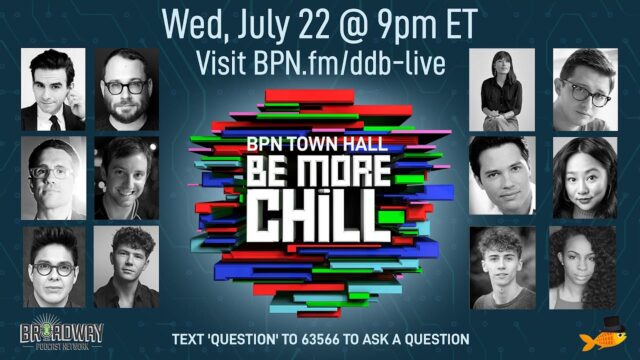 Deep Dive Broadway presents Be More Chill (London and Broadway!)